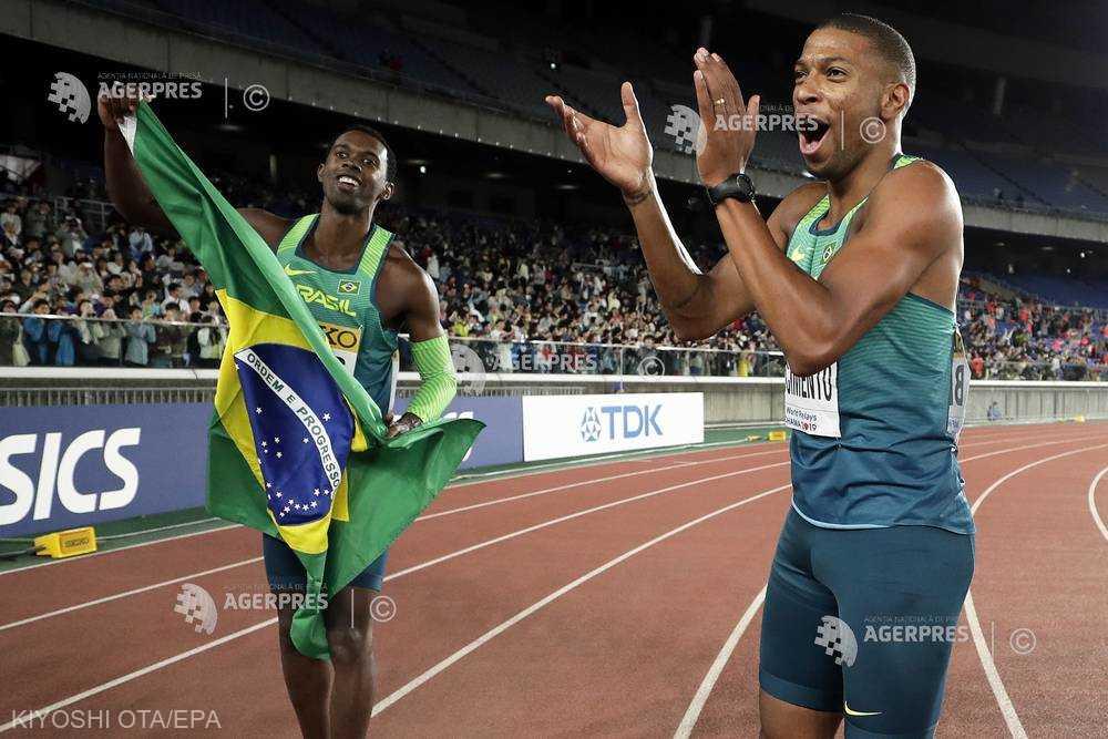Atletism: Brazilia, noua campioană mondială la 4x100 m