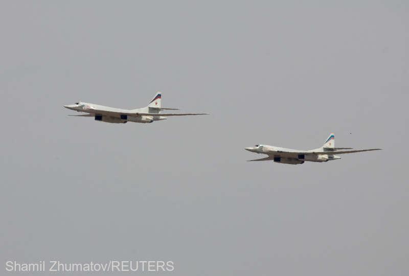 Bombardierele ruseşti au părăsit Venezuela