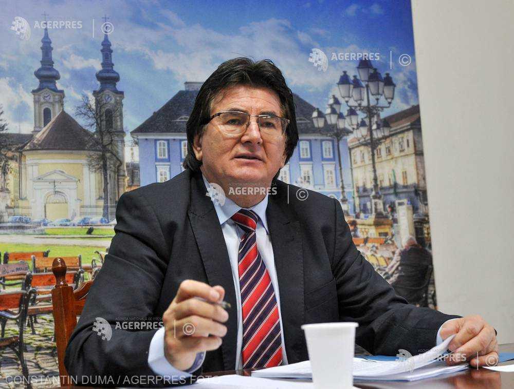 Timiş: Nicolae Robu va candida pentru un nou mandat de primar