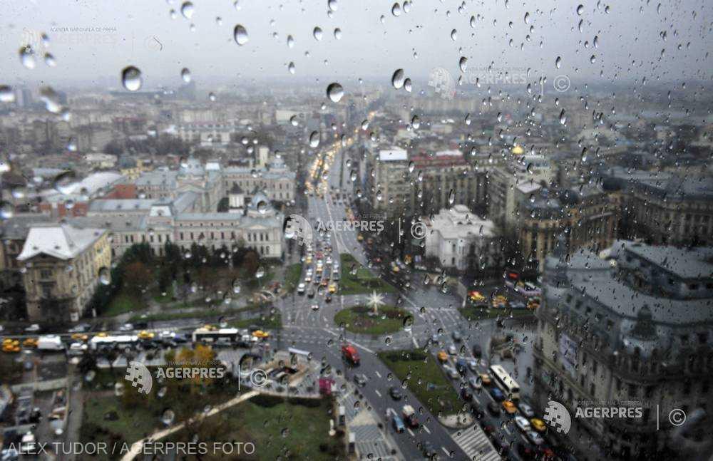Vremea se răceşte în următoarele două-trei zile; ploi însemnate în 30 aprilie (ANM)