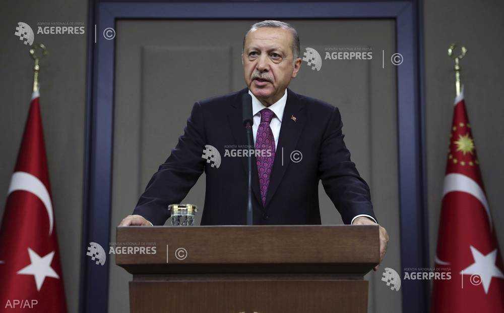 Preşedintele turc Erdogan promite că va răspunde