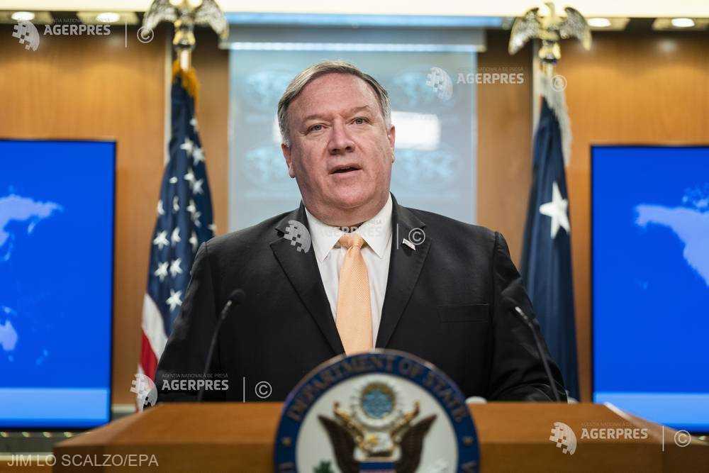 Pompeo către Lavrov: Rusia ''destabilizează'' Venezuela