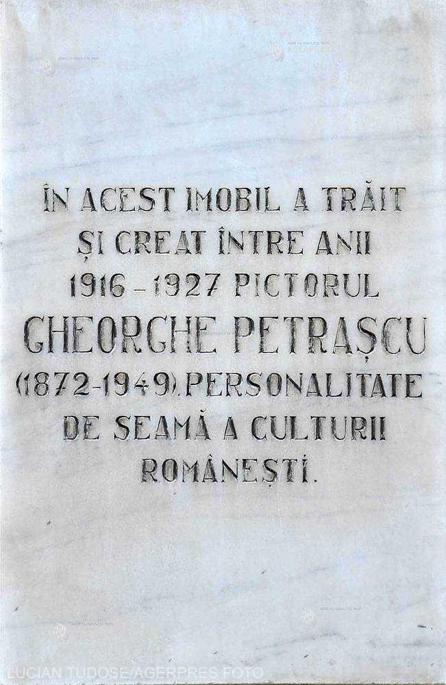 O PERSONALITATE PE ZI: Pictorul Gheorghe Petraşcu