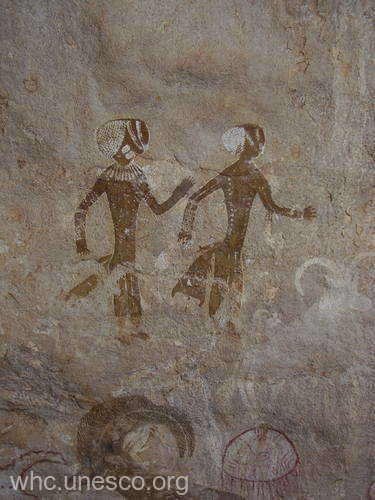 PATRIMONIUL MONDIAL UNESCO: Picturile rupestre de la Tassili n'Ajjer