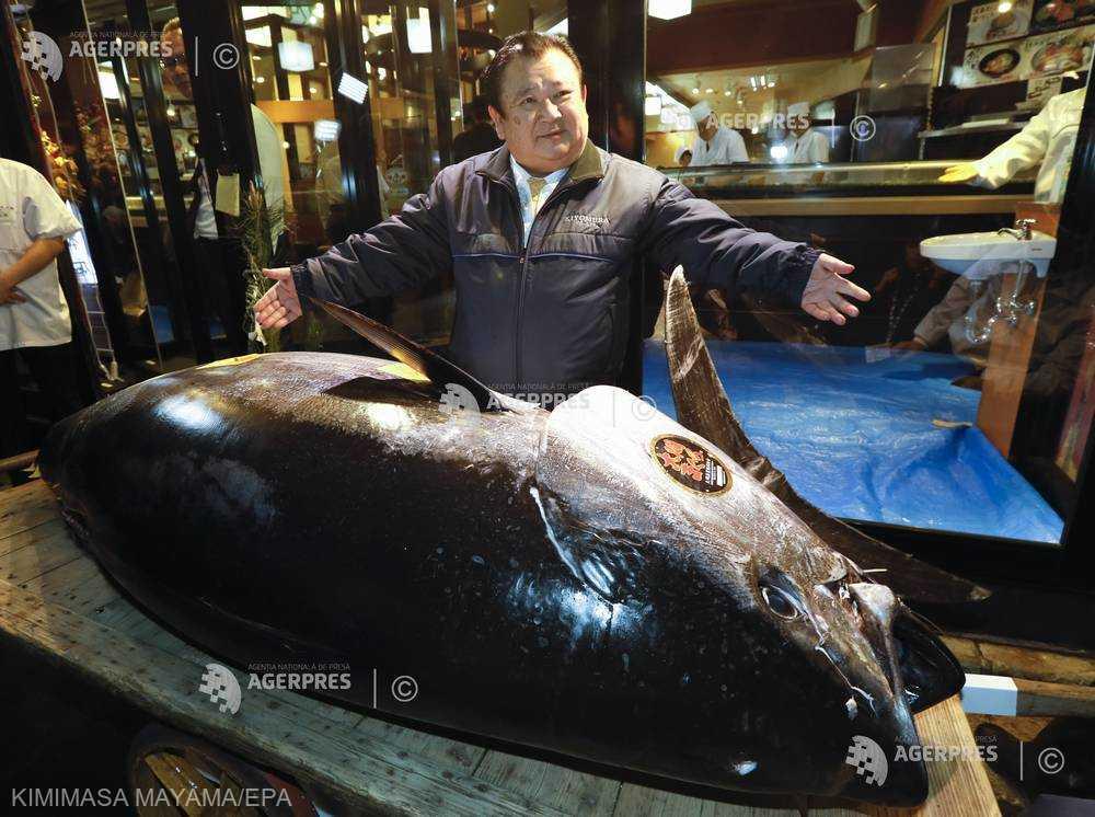 Japonia: Preţ record de 2,7 milioane de euro pentru un ton de Anul Nou