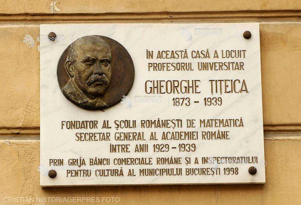 DOCUMENTAR: 145 de ani de la naşterea matematicianului Gheorghe Ţiţeica