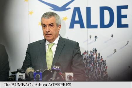 Tăriceanu: ALDE va vota în favoarea proiectului de lege privind alegerea primarilor în două tururi de scrutin