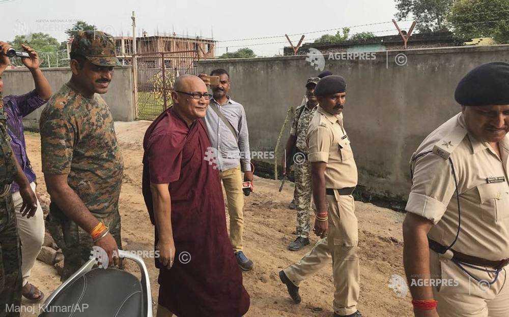 Un călugar budist a fost arestat în India pentru agresiuni sexuale împotriva unor minori