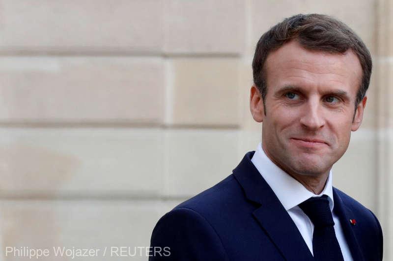 Franţa: Preşedintele Emmanuel Macron va face ''anunţuri importante'' la începutul săptămânii următoare