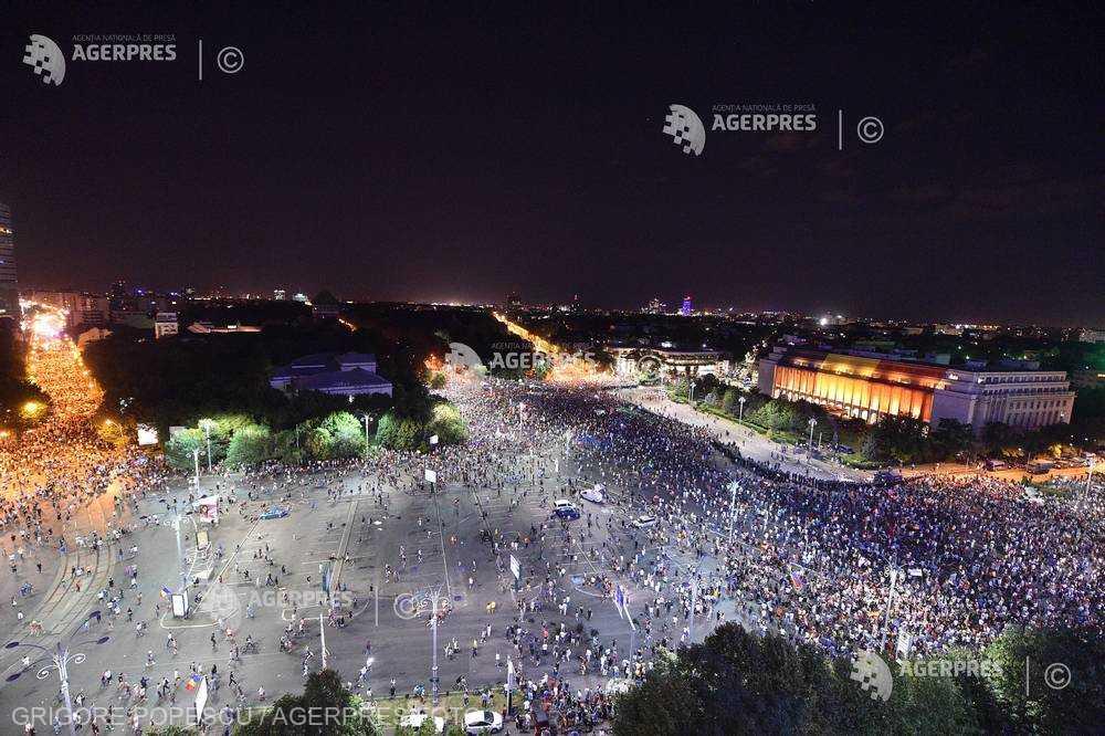 Presa internaţională despre protestul diasporei de la Bucureşti