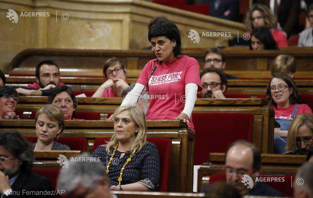 Mandat de arestare în Spania emis împotriva separatistei catalane refugiate în Elveţia