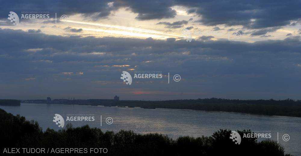 INHGA: Debitul maxim al fluviului Dunărea, la intrarea în ţară, se va situa peste mediile multianuale, în perioada aprilie-iunie