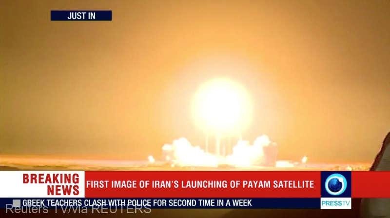 Iran - Eşec la plasarea unui satelit pe orbită (televiziunea de stat)
