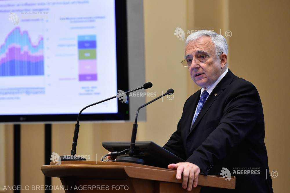BNR prognozează o inflaţie de 4,2% pentru sfârşitul acestui an; Isărescu: Lucrurile sunt ţinute sub control