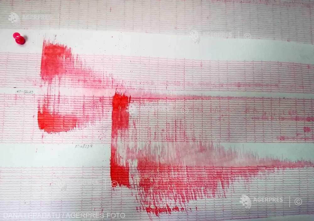 Două cutremure la interval de 15 minute în judeţele Neamţ şi Vrancea; magnitudini - 3,5 şi 3,3 pe scara Richter