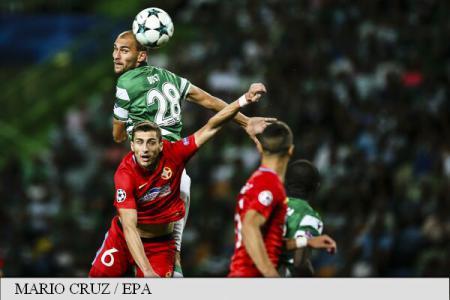 Sporting Lisabona - FCSB 0-0, în play-off-ul Ligii Campionilor (FOTO)
