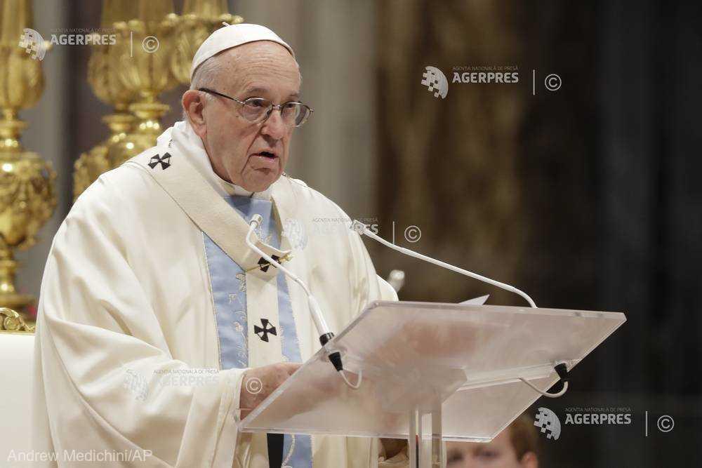Vizita Papei Francisc va încuraja România să fie un factor stimulator al întăririi coeziunii dintre europeni