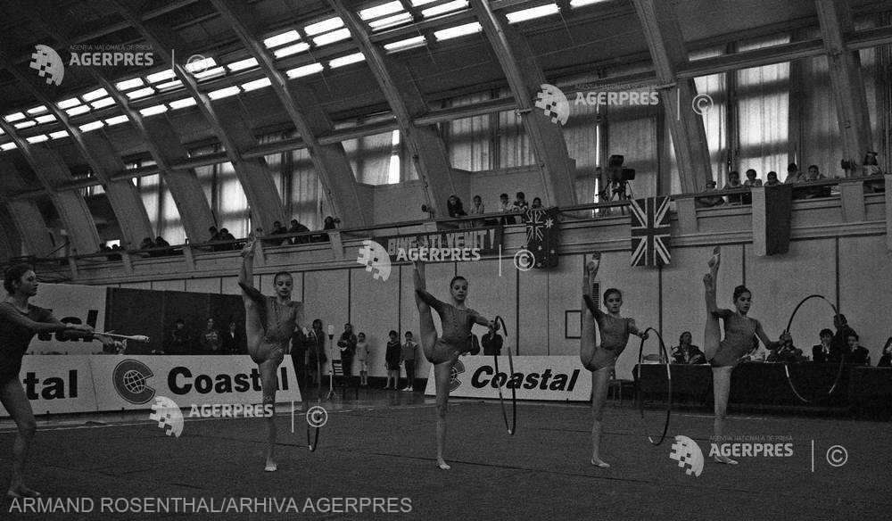 ISTORIA SPORTULUI ROMÂNESC: Gimnastică ritmică şi aerobică