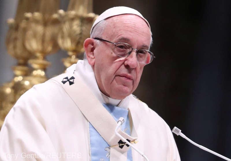 Papa Francisc va face o călătorie apostolică în România între 31 mai şi 2 iunie, anunţă Vaticanul