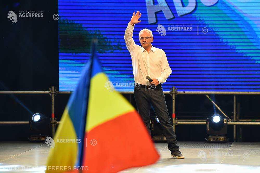 Dragnea: Mitingul PSD de sâmbătă a fost mitingul mic, următorul miting va fi unul uriaş, într-o altă locaţie