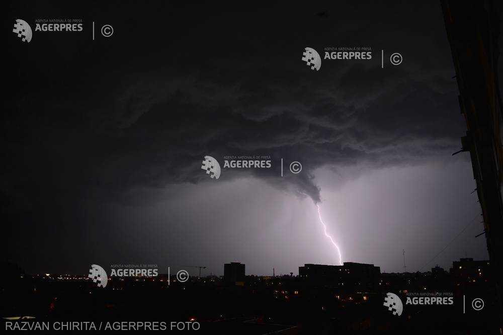 ANM: Informare de vreme instabilă la nivelul întregii ţări, până duminică seara