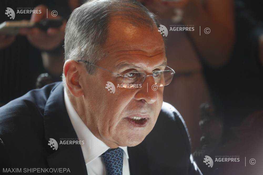 Serghei Lavrov: Sancţiunile impuse de Statele Unite împotriva Turciei şi Rusiei sunt ''nelegitime''