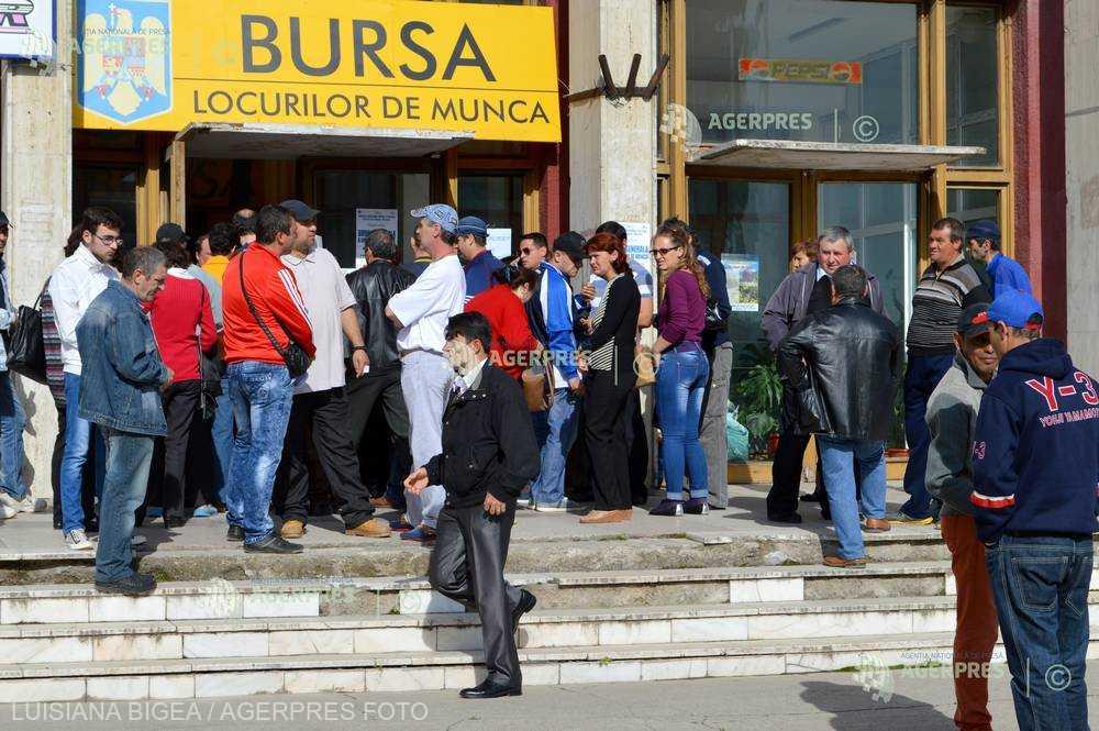 ANOFM: Rata şomajului a scăzut în luna ianuarie la 3,99%, cea mai mică din ultimii 25 de ani