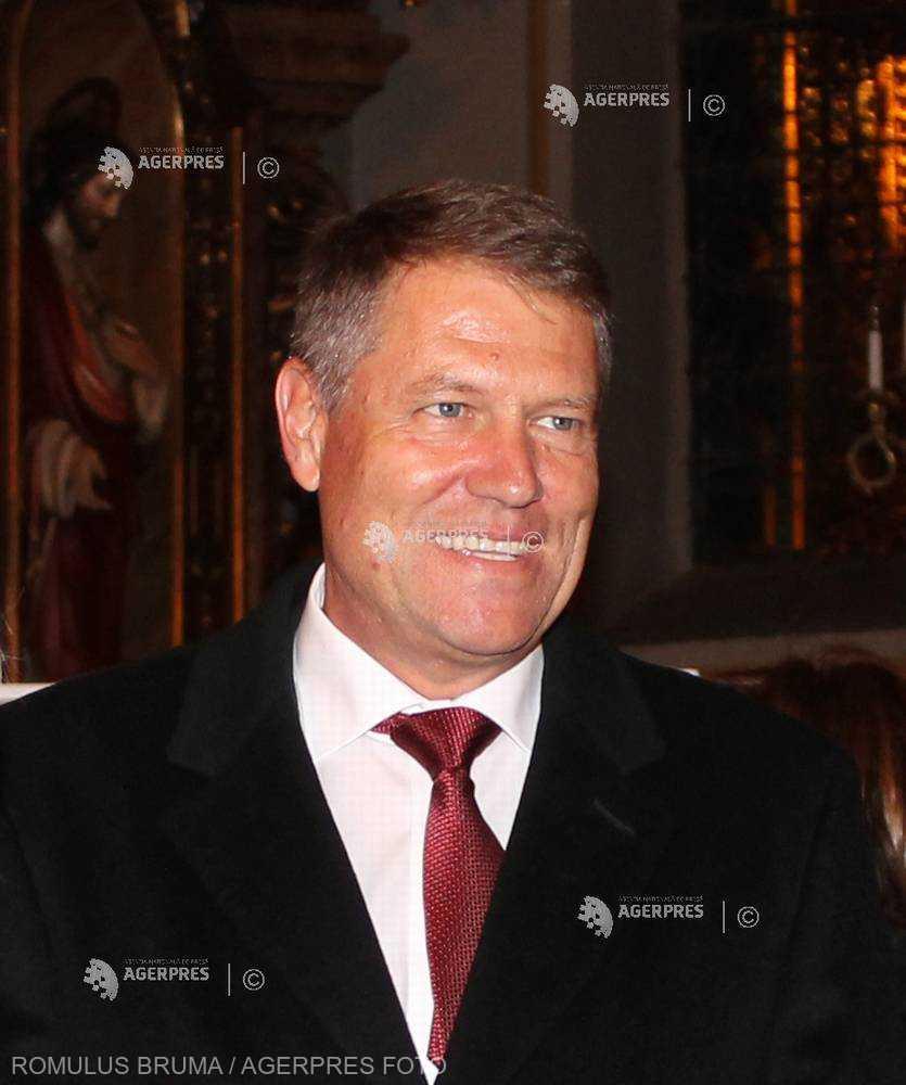 Preşedintele Iohannis, la slujba de Crăciun de la Biserica Romano-Catolică din Sibiu