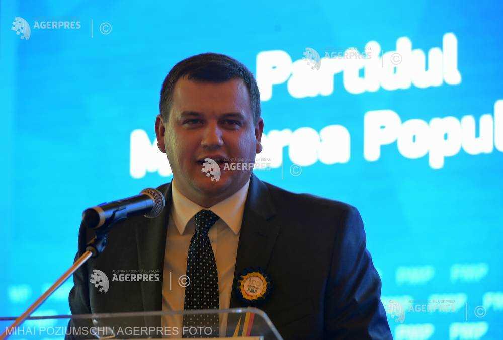 Eugen Tomac, ales preşedinte al Partidului Mişcarea Populară (fişă biografică)