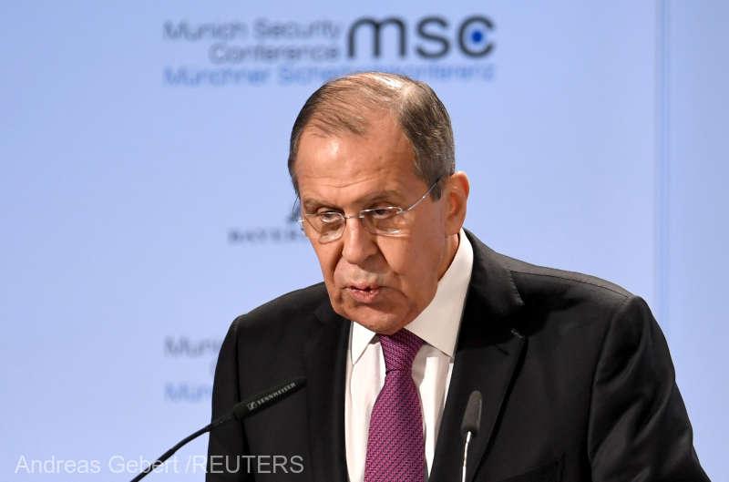 Tratatul INF: Serghei Lavrov acuză SUA că exercită presiuni asupra celorlalţi membri ai NATO