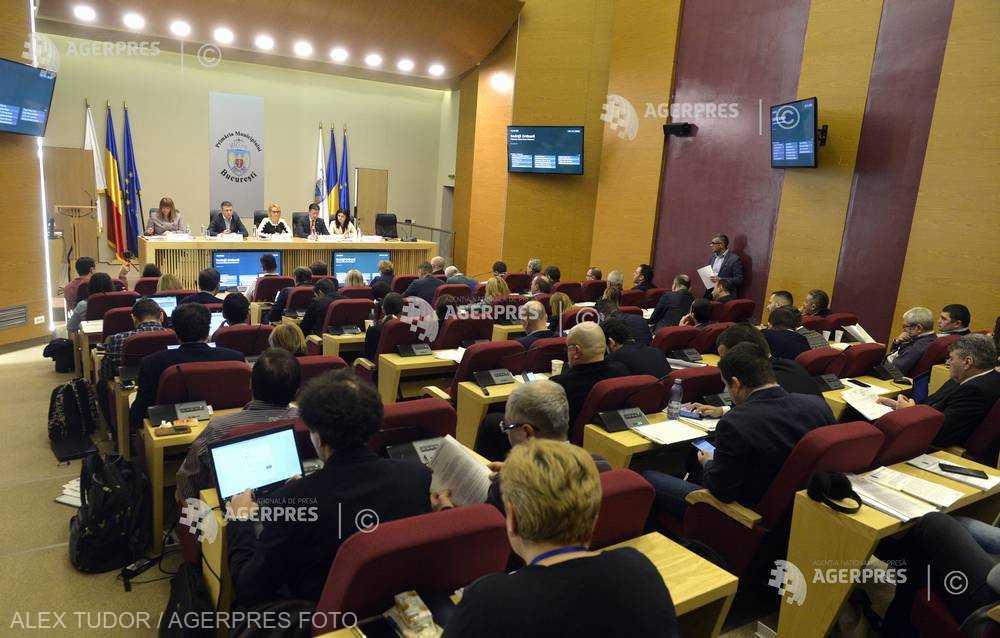 Parlamentari USR au prezentat la CGMB un proiect privind participarea la şedinţele locale, generând discuţii în contradictoriu