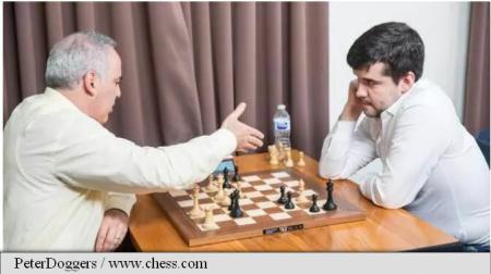 Șah: Garry Kasparov, la prima înfrângere după revenirea în activitate