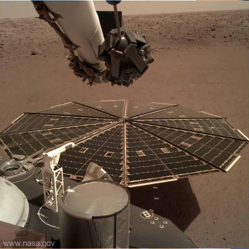 Sonda InSight a înregistrat vântul pe Marte