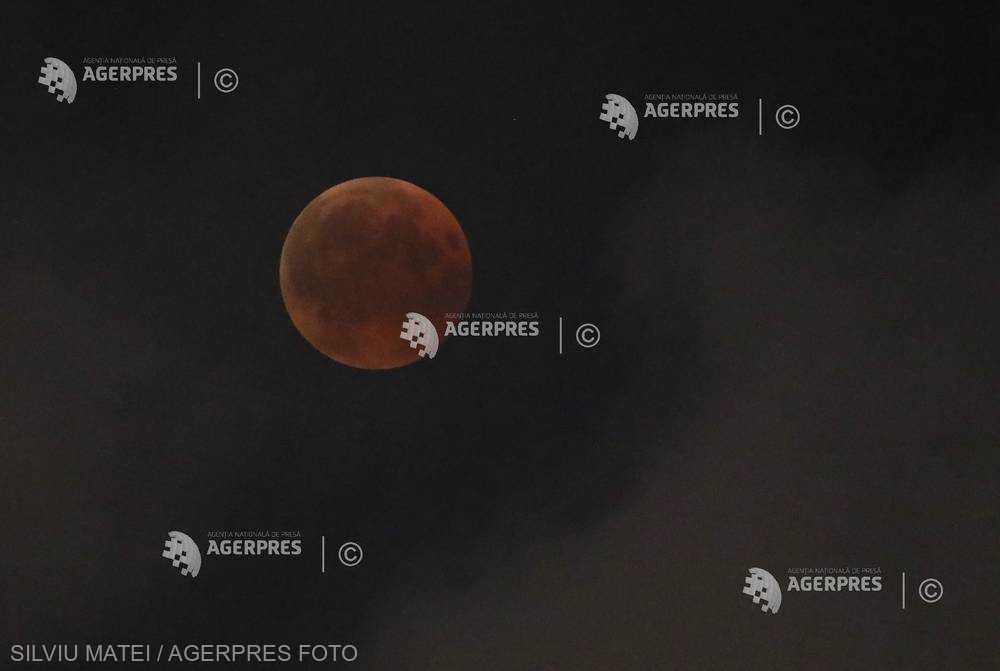 Eclipsă totală de Lună pe 21 ianuarie, ultima înainte de 2022