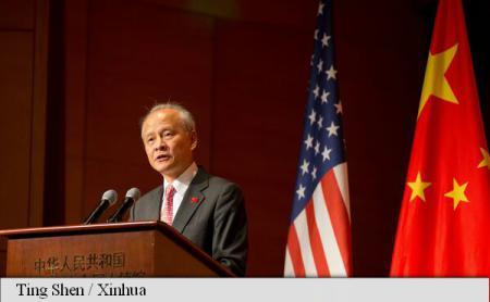 SUA ar trebui să înceteze amenințările la adresa Coreii de Nord, afirmă ambasadorul Chinei la Washington