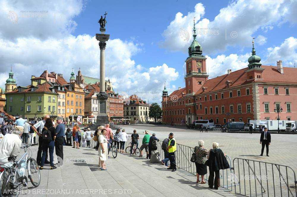 PATRIMONIUL MONDIAL UNESCO: Centrul istoric al Varşoviei (Polonia)
