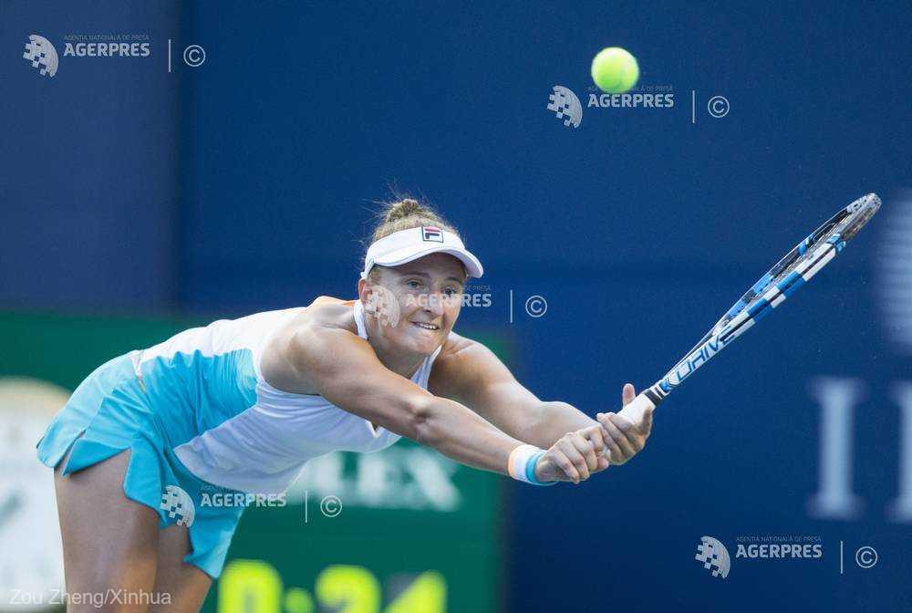 Tenis: Irina Begu s-a calificat în sferturile turneului WTA de la Shenzhen (China)