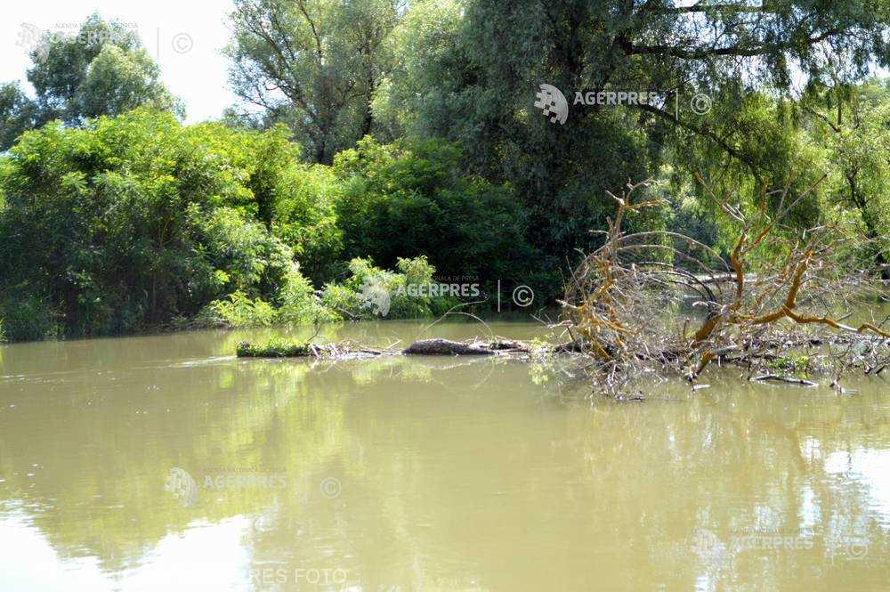 INHGA: Cod portocaliu de inundaţii în Delta Dunării până pe 20 aprilie