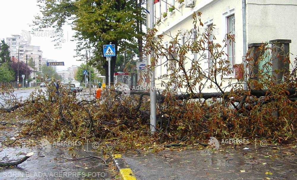 Cod galben de vânt puternic în localităţi din judeţul Caraş-Severin, până la ora 19:00