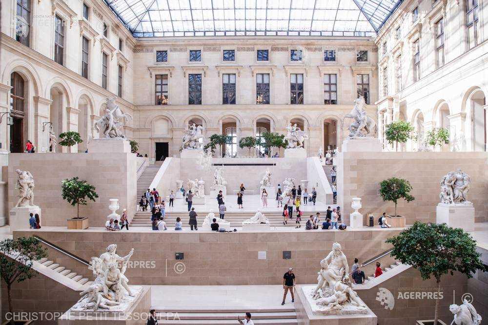 Luvru, cel mai vizitat muzeu din lume, a depăşit pragul de zece milioane de vizitatori în 2018