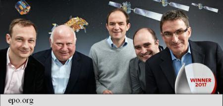 Creatorii semnalelor radio folosite de proiectul Galileo au câștigat Premiul Inventatorului European pe 2017