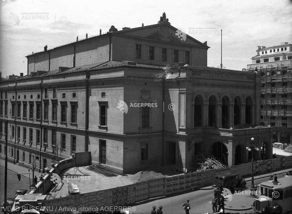 ATUNCI ŞI ACUM: Teatrul Naţional de pe Calea Victoriei