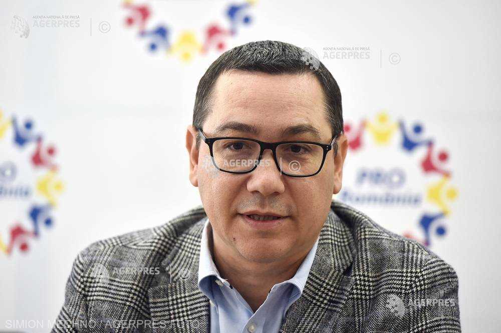 Ponta, despre Kovesi: Sunt subiectiv; când eu am fost acuzat de ceva, m-am retras din funcţie