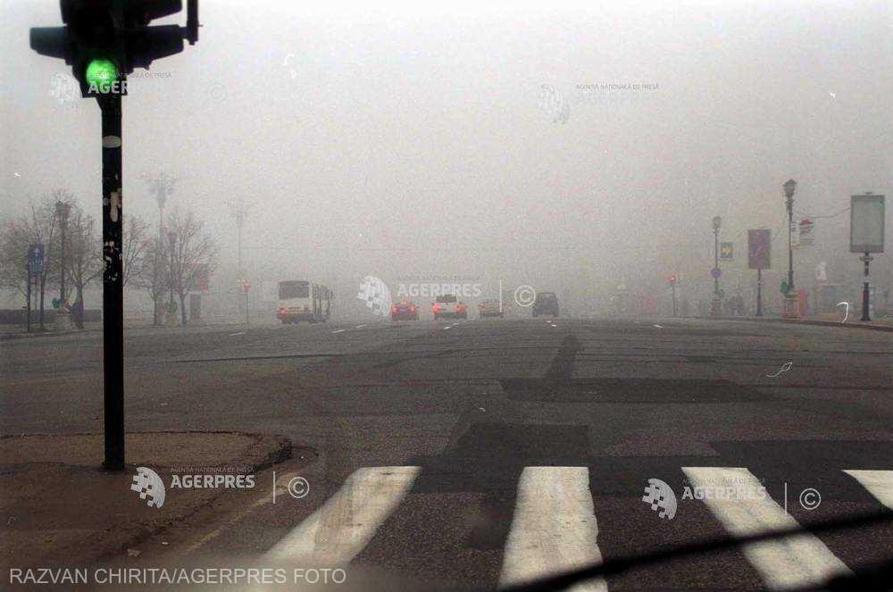 ANM: Cod galben de ceaţă în judeţele Harghita şi Covasna, vineri dimineaţă