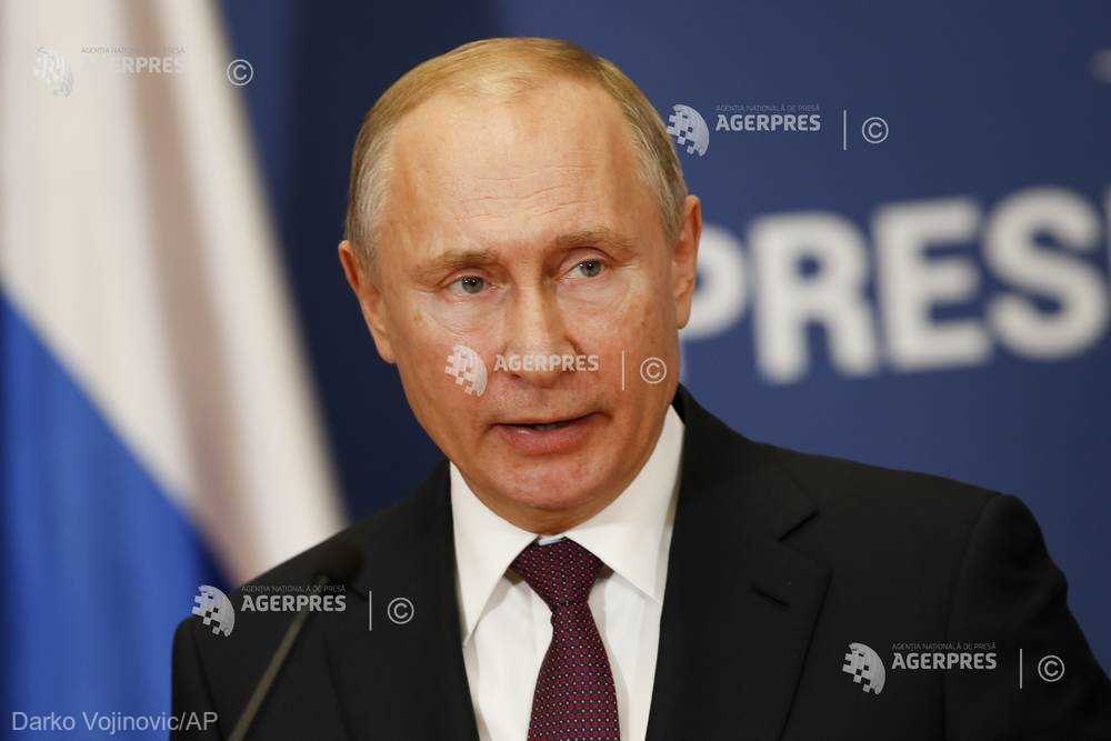 Vladimir Putin acceptă observatori germani - francezi pentru a verifica respectarea libertăţii de navigaţie în strâmtoarea Kerci