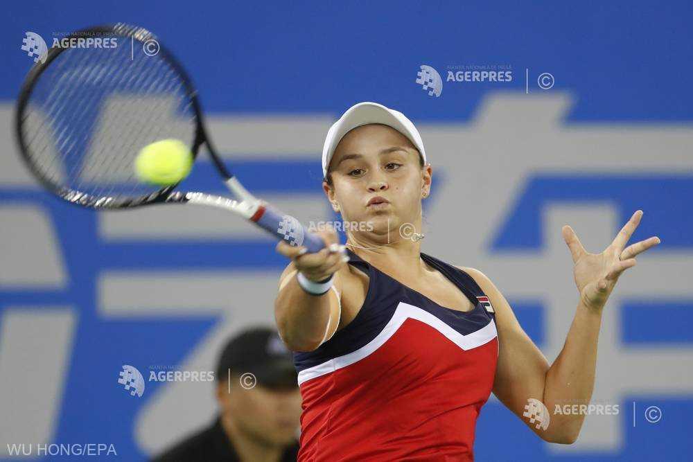 Tenis: Jelena Ostapenko sau Ashleigh Barty, prima adversară a Simonei Halep în 2019