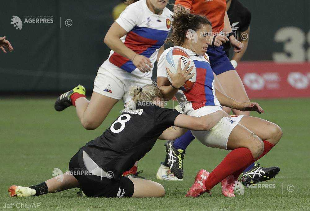 Rugby feminin în VII: Noua Zeelandă a învins Franţa cu 29-0, în finala Cupei Mondiale