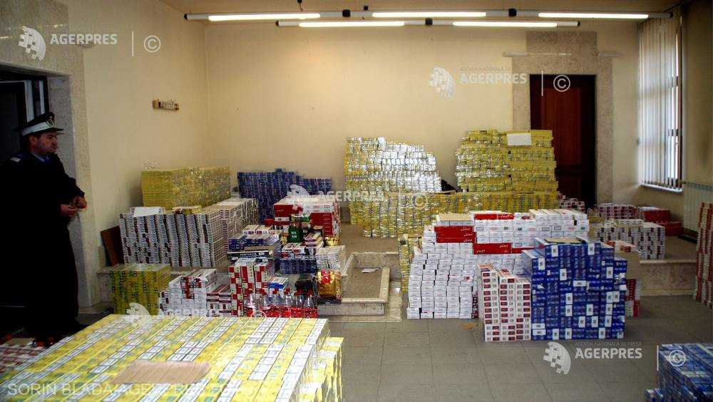 Suceava: Ţigări în valoare de 173.000 de lei capturate de Poliţia de Frontieră, după o acţiune cu focuri de armă