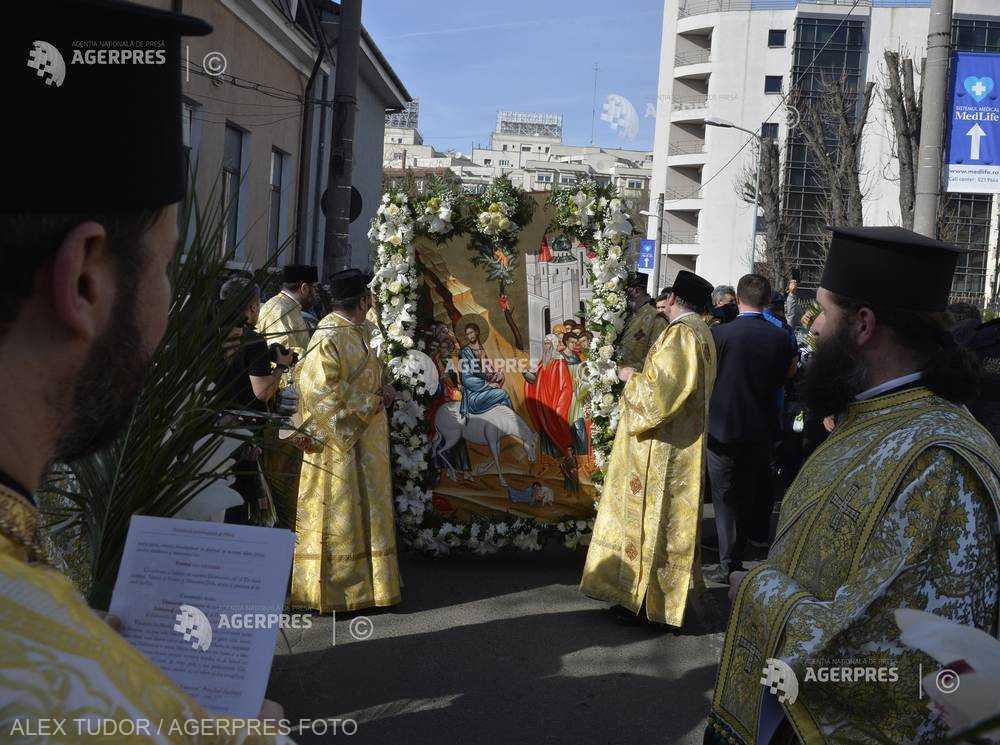 SĂRBĂTORI: Intrarea Domnului în Ierusalim - Începutul Săptămânii Mari