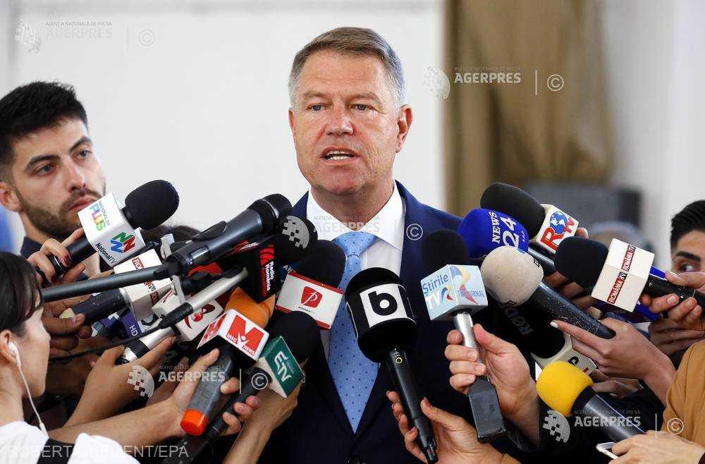 Klaus Iohannis: Guvernul PSD trebuie să plece